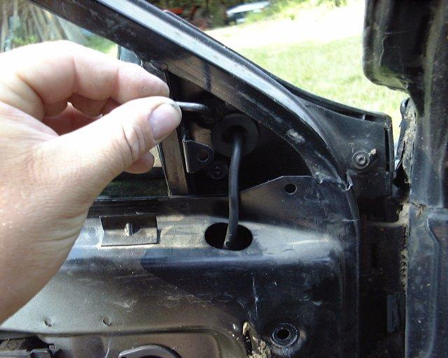Les voitures de fred changer un moteur de vitre electrique et ou une vitre - Repeindre une porte de voiture ...